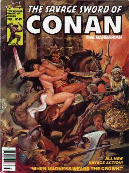 Savage Sword of Conan 49 - Nestor Redondo