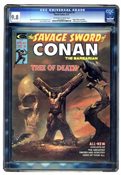 Savage Sword of Conan 5 - Boris Vallejo