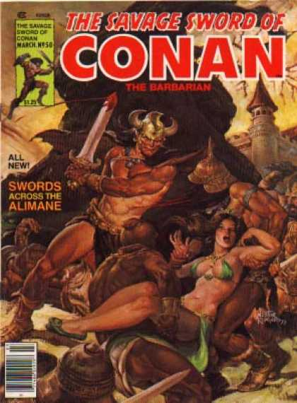 Savage Sword of Conan 50 - Nestor Redondo