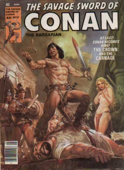 Savage Sword of Conan 52 - Nestor Redondo