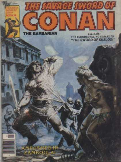 Savage Sword of Conan 58