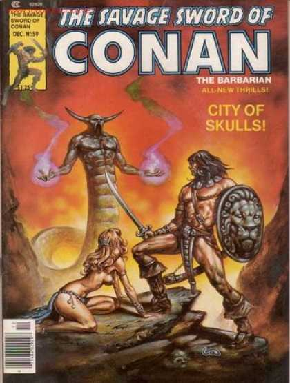 Savage Sword of Conan 59