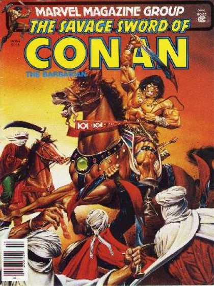 Savage Sword of Conan 63 - Joe Jusko