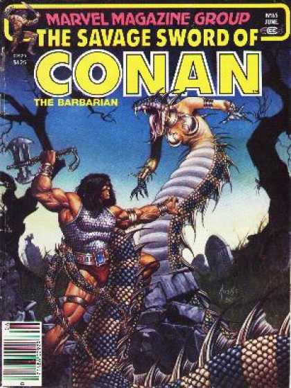 Savage Sword of Conan 65 - Joe Jusko