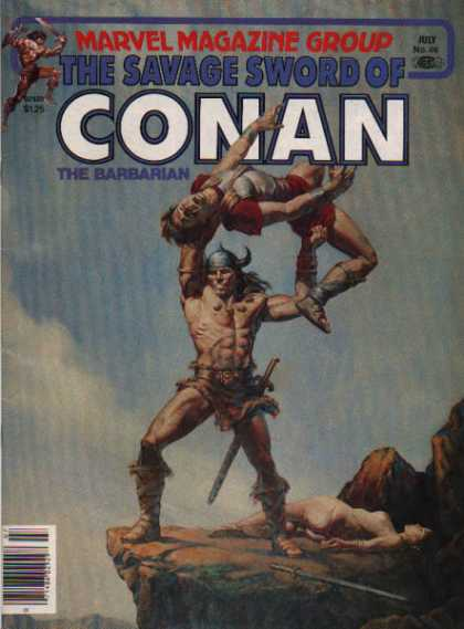 Savage Sword of Conan 66