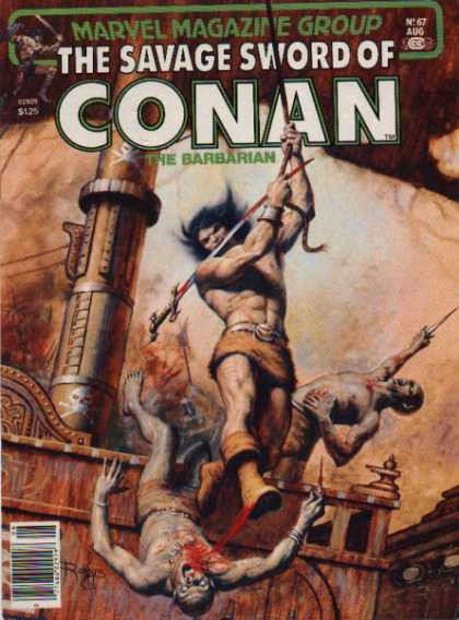 Savage Sword of Conan 67