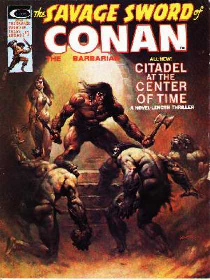 Savage Sword of Conan 7 - Boris Vallejo