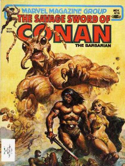 Savage Sword of Conan 70