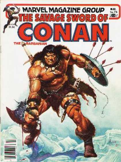Savage Sword of Conan 74 - Joe Jusko