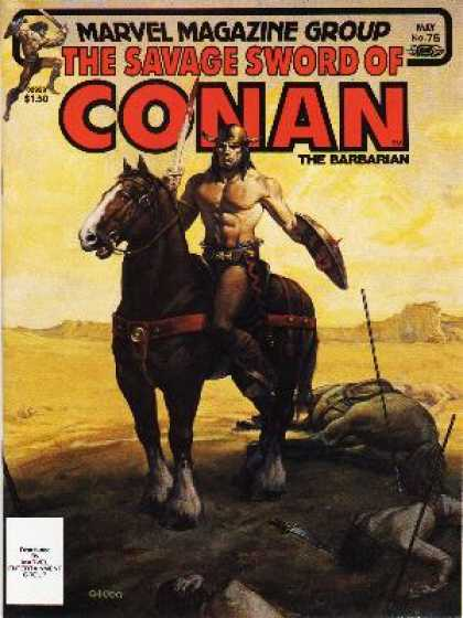 Savage Sword of Conan 76