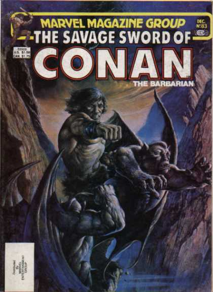 Savage Sword of Conan 83