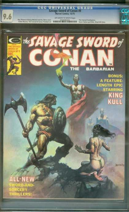 Savage Sword of Conan 9 - Boris Vallejo