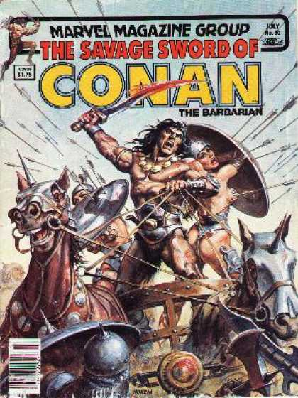 Savage Sword of Conan 90