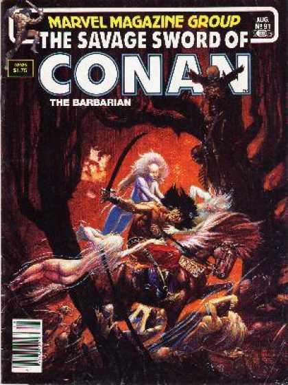 Savage Sword of Conan 91 - Michael Kaluta