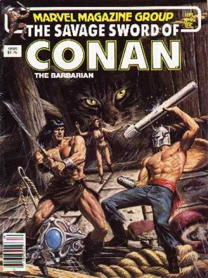 Savage Sword of Conan 92