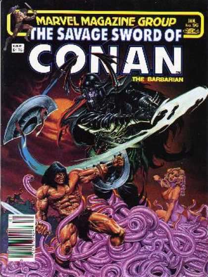 Savage Sword of Conan 96 - Joe Jusko
