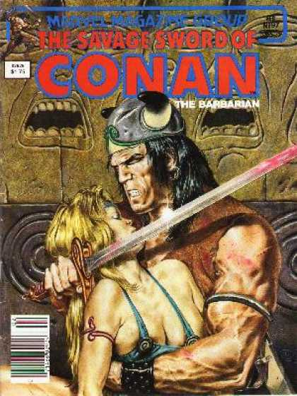 Savage Sword of Conan 97 - Conan - Barbarian - Conan The Barbarian - Sword - Mattel