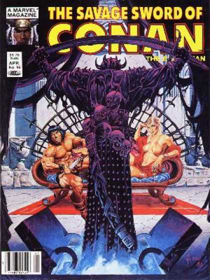 Savage Sword of Conan 99 - Conan - Marvel - Barbarian - Hero - Strength - Joe Jusko