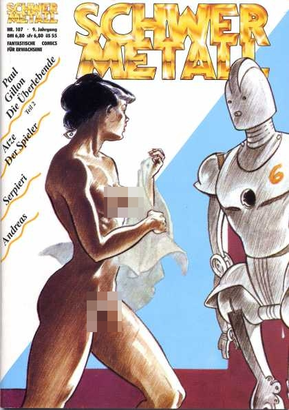 Schwermetall 112 - Adult Graphic Novels - German Graphic Novels - Classic Sci-fi - Future Fantasy - Robot Adventures