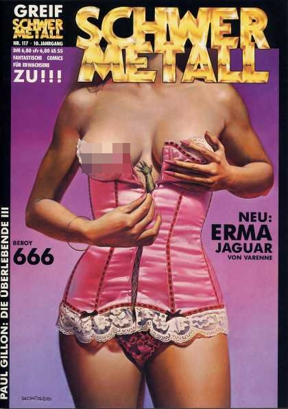 Schwermetall 122 - Bad Book - Its Not Childesh - Bed Women - Sex Part 3 - Elders Book