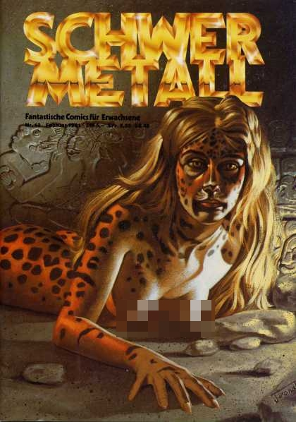Schwermetall 13 - Heavy Metal - Woman - Cat Woman