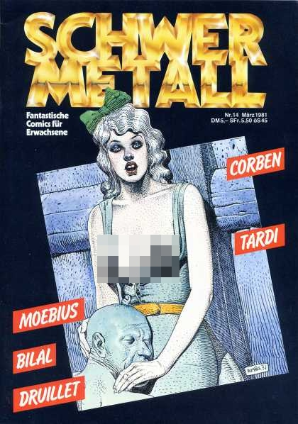 Schwermetall 14 - Mature Content - Partial Nudity - Violence - German - Adventure