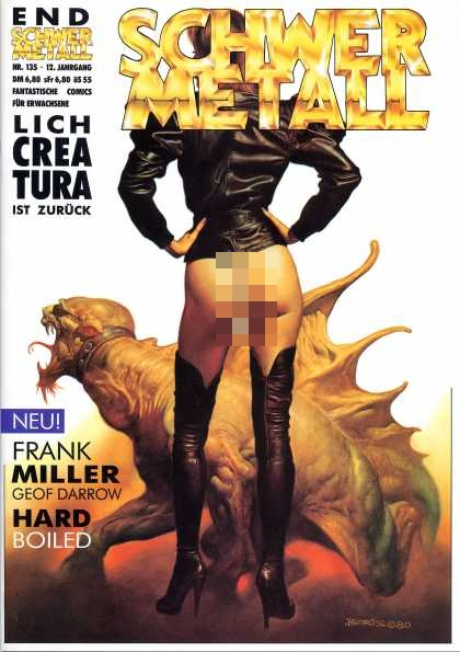 Schwermetall 143 - Woman In Black - Super Woman - The Wild Dragon - Super Woman And The Pet Dragon - Sexy Woman