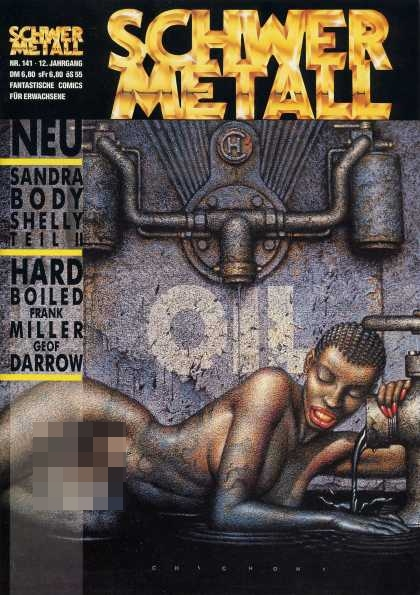 Schwermetall 149 - Sandra Body - Hard Boiled - Oil - Woman - Metal