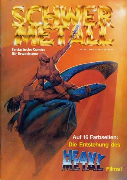 Schwermetall 27 - Adventure - Fantasy - Partial Nudity - Mature Content - Violence