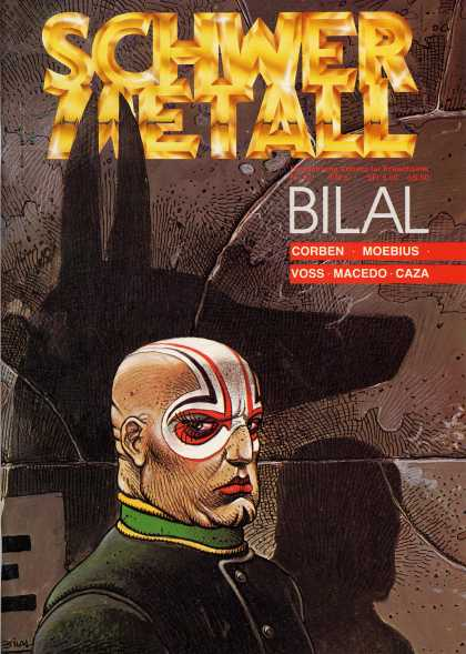 Schwermetall 45 - Bilal - Eyelashes - Face Paint - Bald Head - Shadows