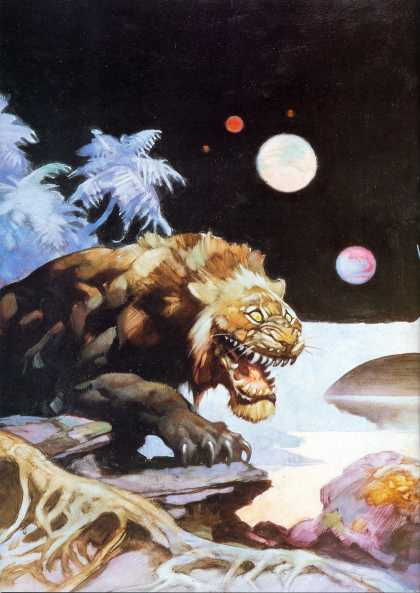 Schwermetall 62 - Alien World - Lion Beast - 5 Planets - Jungle Trees - Claws