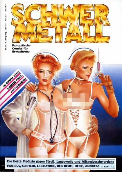 Schwermetall 92 - Naughty Nurses - Blondes - Doctors - German