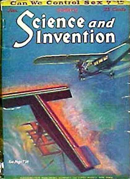 Science and Invention - 1/1929