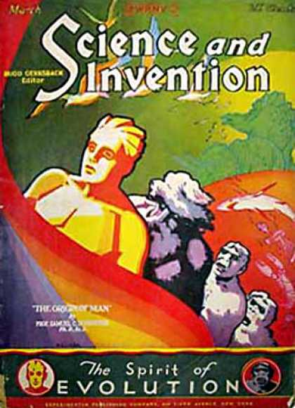 Science and Invention - 3/1929