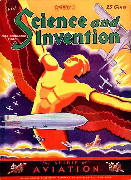 Science and Invention - 4/1929