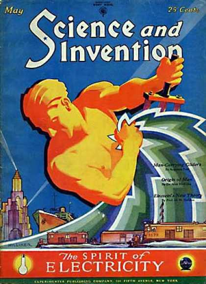 Science and Invention - 5/1929