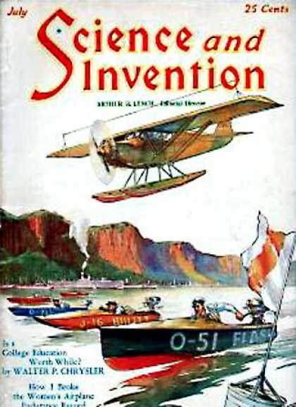 Science and Invention - 7/1929