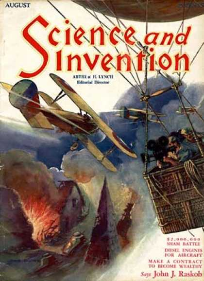Science and Invention - 8/1929