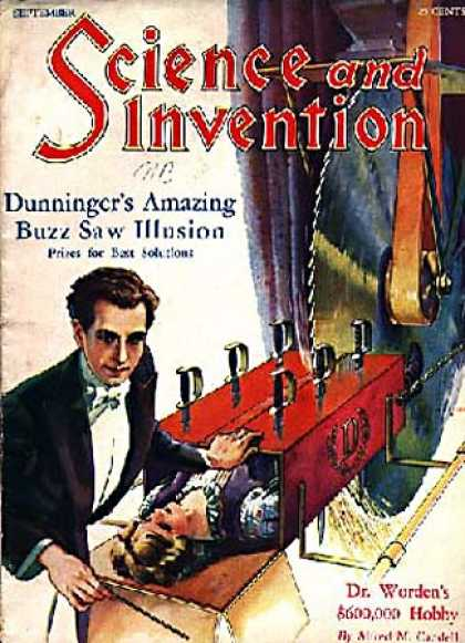 Science and Invention - 9/1929