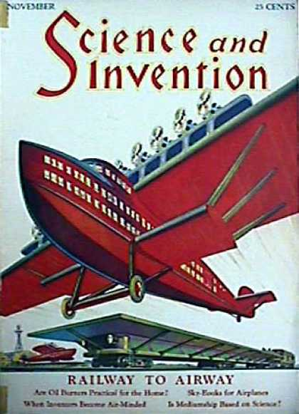 Science and Invention - 11/1929
