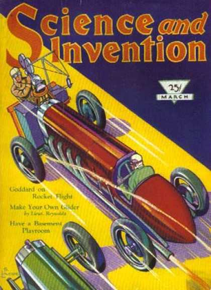 Science and Invention - 3/1930