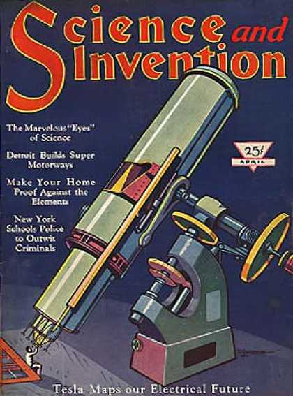 Science and Invention - 4/1930