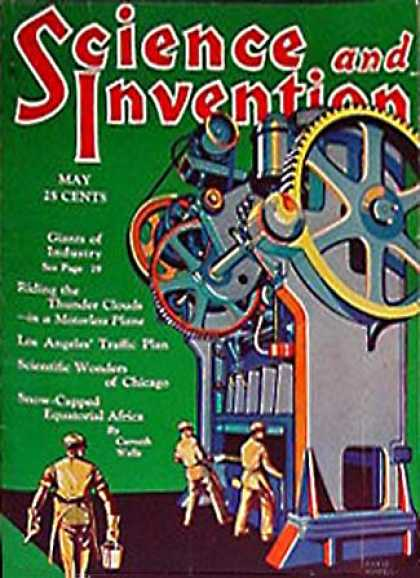 Science and Invention - 5/1930