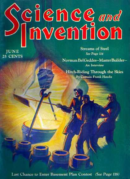 Science and Invention - 6/1930