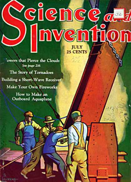 Science and Invention - 7/1930