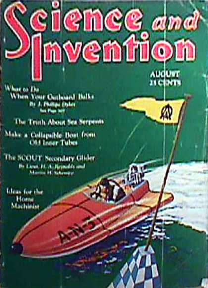 Science and Invention - 8/1930