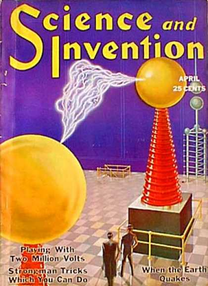 Science and Invention - 4/1931