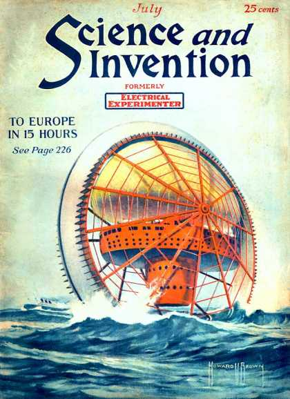 Science and Invention - 7/1921