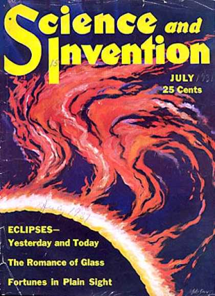 Science and Invention - 7/1931
