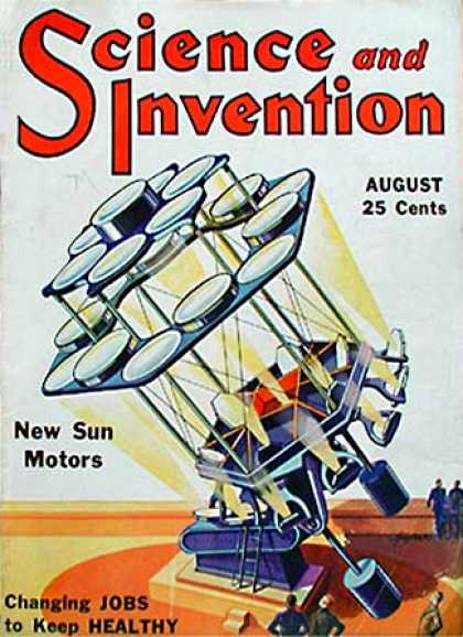 Science and Invention - 8/1931